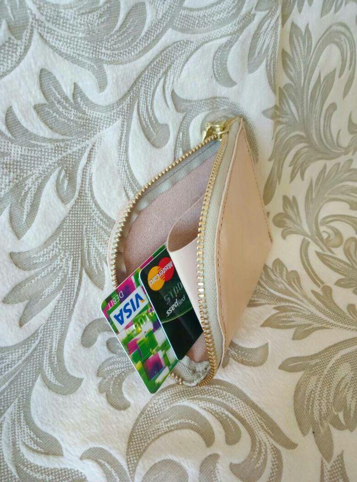 Coin zip purse