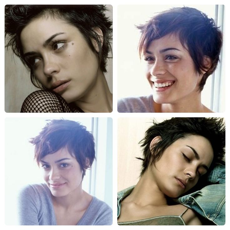 Shannyn Sossamon short hair inspiration