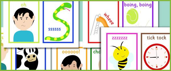 Phase 1 Voice Sounds...A set of 10 picture cards to be used with the voice sounds activity outlined on page 37 of the letters and sounds publication. #lettersandsounds #teachingresources