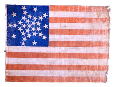 Fort Albany Flag Fort Albany Was One Of The Forts Protecting Washington During The War And Was Located Where The Present Day Pentagon No Civil War Flags American Civil War Flag
