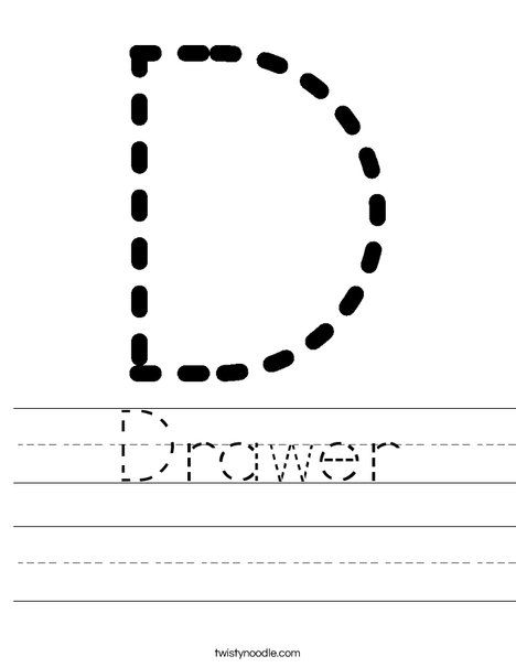 tracing letter d worksheet writing preschool writing preschool names preschool learning. Black Bedroom Furniture Sets. Home Design Ideas