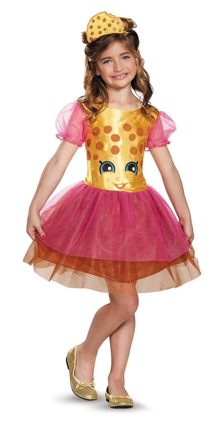 Shopkins Kookie Cookie Child Costume from Buycostumes.com