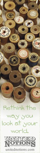 Olden days thread spools...beautiful - Wooden spools, no more  I have saved a lot of old ones that were in my mother's sewing box, which she gave to me.  Nana