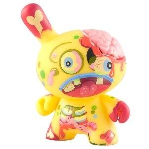 Kidrobot Dunny Series 2010 - Zombny Zombie By Triclops Studio