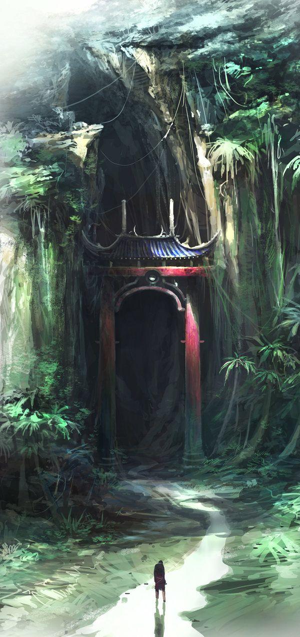 L'une des porte d'accés au Royaume d'Ainomédécal.