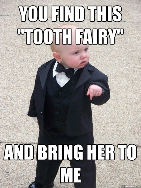 What do suppose he wants with the tooth fairy? #DeltaDental