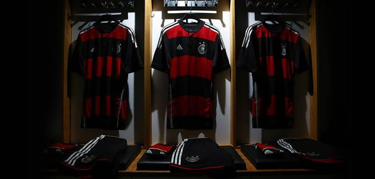 New Germany Kit for World Cup