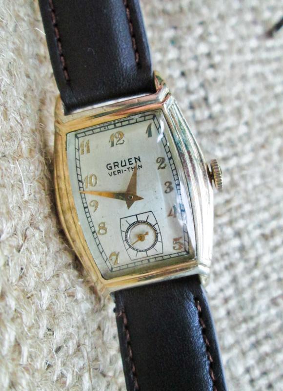 9 best images about vintage gruen watches on pinterest. Black Bedroom Furniture Sets. Home Design Ideas
