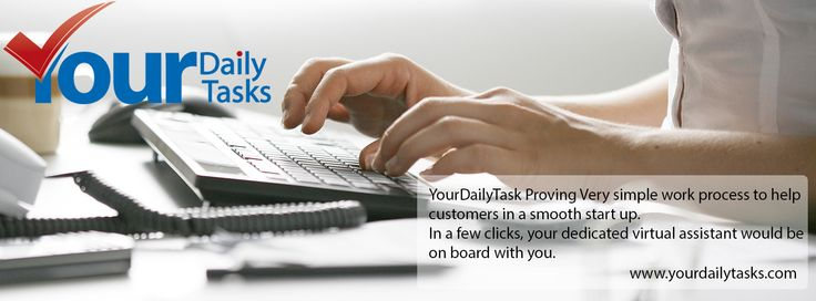 Get personalized portal which is 100% confidential, secure and trusted. - http://www.yourdailytasks.com/