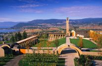 Mission Hill Family Estate Winery, West Kelowna, British Columbia, Canada.