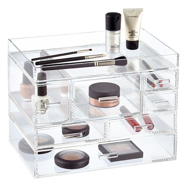Best Acrylic Makeup Organizers Ideas On Pinterest Makeup - Container store makeup organizer