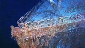 """Foto del pecio hundido del Titanic. Imagen de """"Drenar el Titanic"""" en National Geographic Channel Foto del día - 14 mayo 2015"""