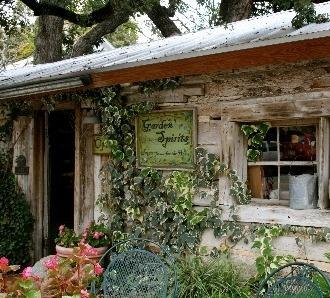 Antique shop in Salado, Texas