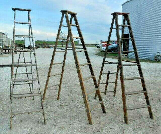 Vintage Wooden 8 Step Ladders For Decorating Decorative Home Decor Ladder Decor Idead Of Blanket Ladder Decor Rustic Blanket Ladder Wooden Blanket Ladder
