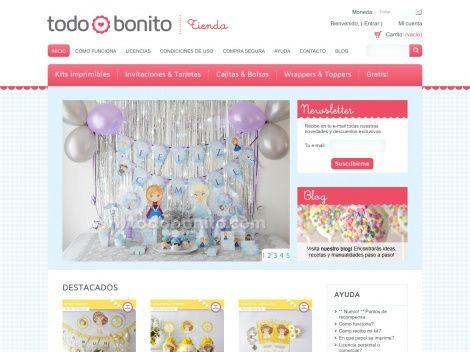 Tienda online de @Todo Bonito :)