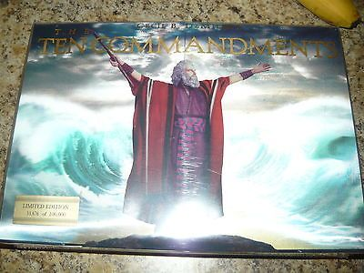 NEW The Ten Commandments [Numbered Limited Edition Boxed Set] dvd blu ray