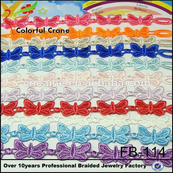Wholesale fashion lace cruciani bracelet