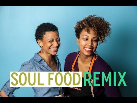 How to make Healthy Soul Food. (Want to use the collard recipe and the sweet potatato recipe.)