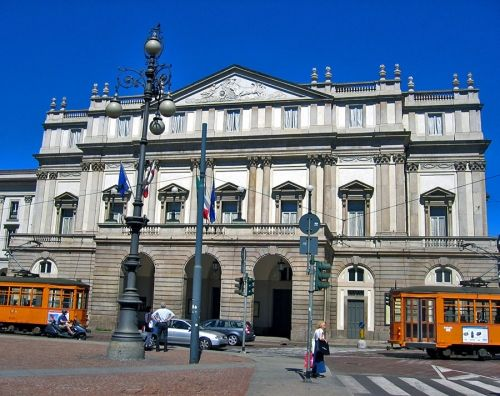 оперный театр ла-скала, италия, милан