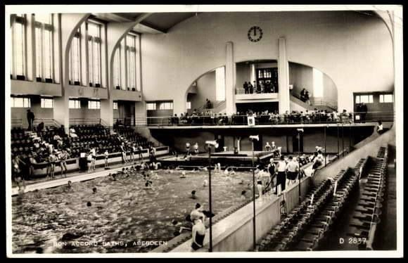 Bon Accord or Up Town Baths, Justice Mill Lane.
