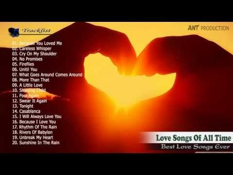 Old songs english love songs || Greatest hits of all time music || Best romantic songs collection - YouTube