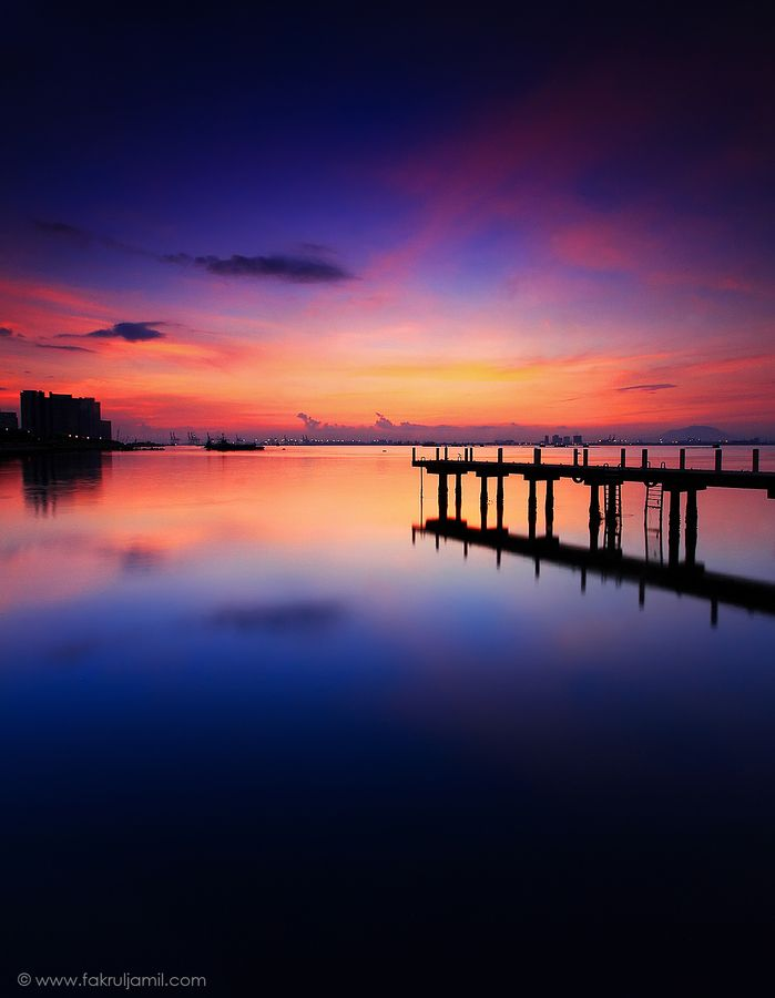 Sunset in Penang, Malaysia
