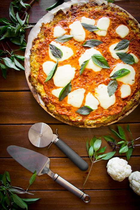 Cauliflower really can do amazing things when given the opportunity. Like this amazing Cauliflower Base Pizza from the Nude Food Hero.