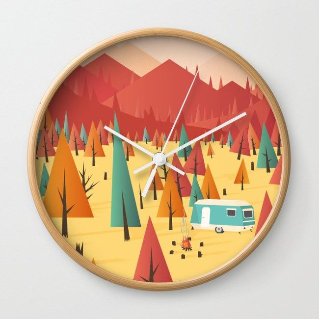 Go out wall clock by Roland Banrevi #home #homedecor