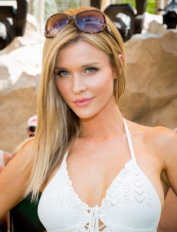 Model and actress Joanna Krupa hosted Rehab Bikini Invitational at Rehab Pool Party at Hard Rock Hotel & Casino in Las Vegas, Nevada (Photo: © Erik Kabik /RETNA / www.ErikKabik.com).