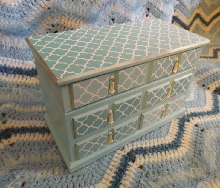 17 best ideas about jewelry box makeover on pinterest for Old jewelry box makeover
