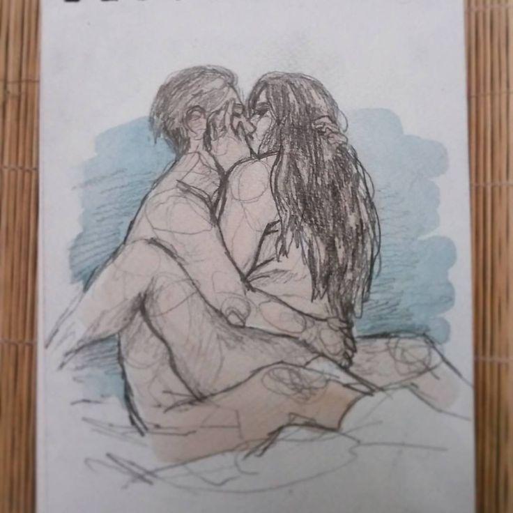 """25 Likes, 1 Comments - Ingrid Arbiol (@inarsh.illustration) on Instagram: """"Días 23 y 24 - Gordura y sexo (Fat, sex)  #artnestoltes #artoftheday #sketch #sketchbook #doodle…"""""""