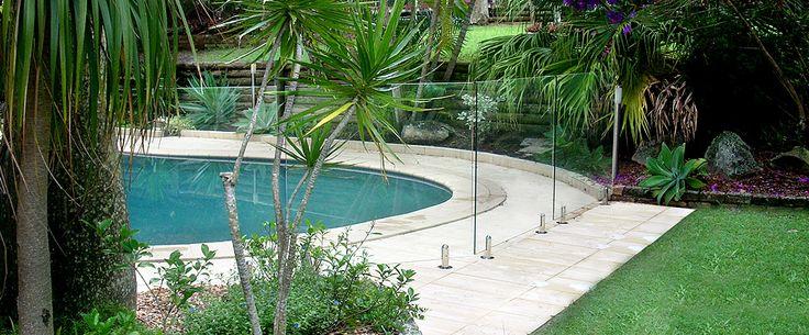 Frameless Glass Pool Fencing Brisbane