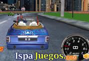 Juego de Spiderman Racing 3D | JUEGOS GRATIS: Participa en esta emocionante carrera en la cual esta conduciendo Spiderman, debes de ayudarlo a llegar a la linea de meta en el primero puesto para que pueda avanzar de nivel, haz que tu auto derrape para acumular nitro que luego podrás utilizar para que tu auto vaya a grandes velocidades.