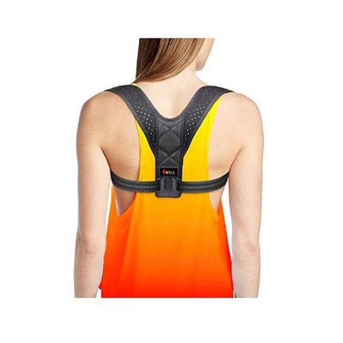 UPPER BACK POSTURE CORRECTOR. The traceability corrector helps to get rid of back, shoulder, neck pain and lower back pain from strains, sprains and muscle spasms. POSTURE CORRECTOR FOR WOMEN. The premium posture corrector straightens shoulders and upper back. A quick way to stop slouching and hunching when sitting with rounded shoulders at a table or computer or walking. COMFORTABLE SHOULDERS SUPPORT. The black elastic posture corrector is made of a thin breathable material You can wear it…