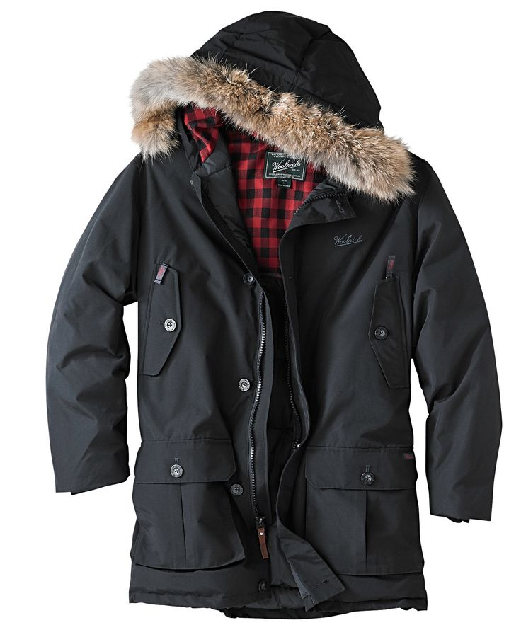Men's Down Arctic Parka By Woolrich.