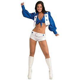 Dallas Cowboys Cheerleader Costume  X-Small  Dress Size Tag someone you think would look good in this! #Cowboy #Halloween #Costume
