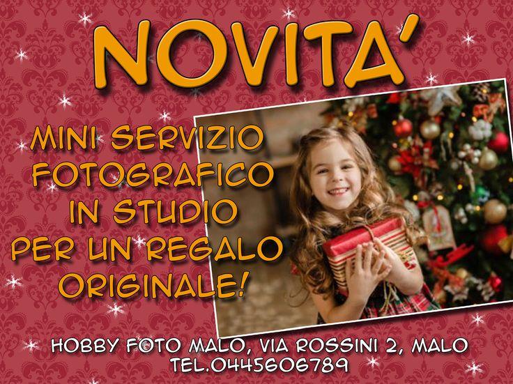 Novità mini servizio fotografico in studio per un regalo speciale – Vicenza – Malo – HOBBY FOTO