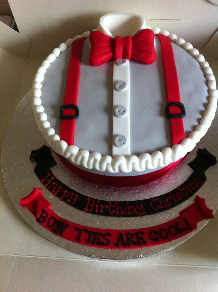 ameliaxpond:  My eleventh doctor themed birthday cake!