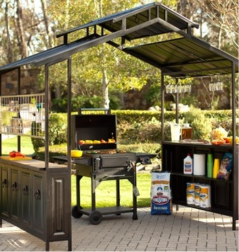 grill gazebo...want this!