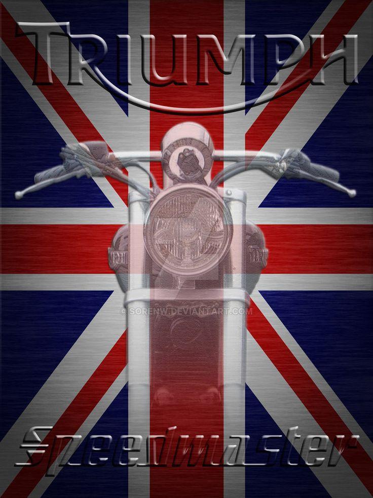 Triumph Speedmaster Union Jack by SorenW.deviantart.com on @DeviantArt
