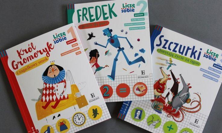 """Seria """"Liczę sobie"""" do nauki matematyki na 3 poziomach, dla dzieci 4-8 lat <3"""