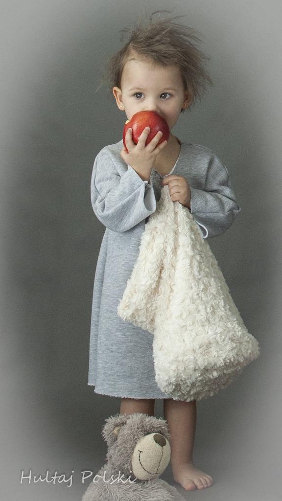 Hultaj Polski #fashion #kids #baby cotton dress, #organic,  sample sale on milieubazaar.com