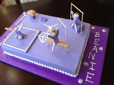 gymnastics birthday cake - Yahoo Image Search Results
