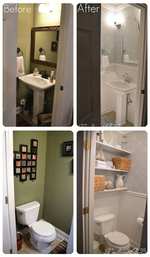 Bathroom Makeovers Pinterest 110 best bathroom makeover images on pinterest | bathroom ideas