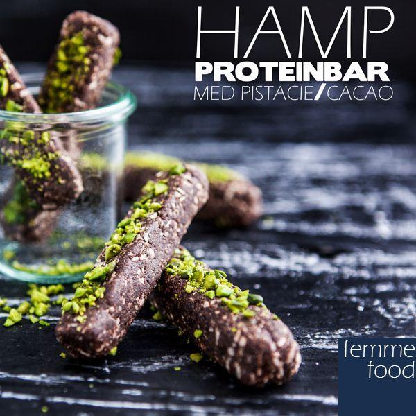 Hamp-proteinbar