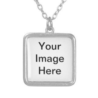 Customizable Necklaces.  You can find a variety of necklaces available for customization or ready to buy as is. Zazzle's metal necklace pendants can be printed in full color and come with a chain for easy wear. Choose between two shapes and sizes for your custom charm. Add your own photos and text to your custom necklace for absolutely free!