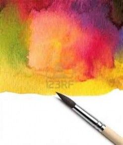 Art how to paint edges with watercolor - Art beginners tips and techniques.  http://frangipanni.hubpages.com/hub/How-to-Watercolor-landscape-techniques-and-tips