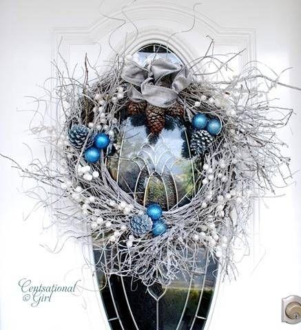 Winter Willow Wreath
