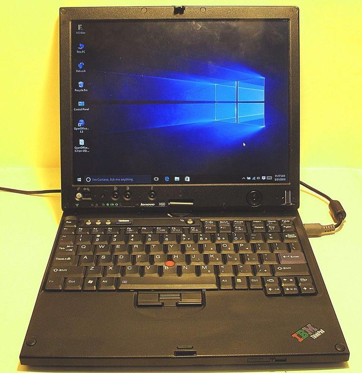 """12.1"""" Lenovo X60 WiFi Finger Print Input Reader Tablet Laptop"""