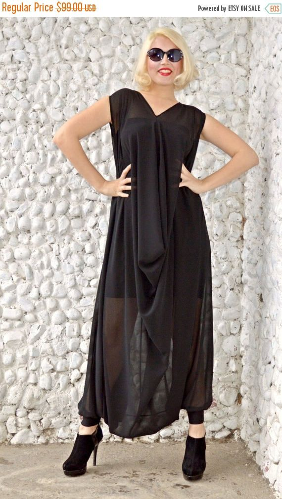 New in our shop! GREEN SALE 20% OFF Extravagant Black Jumpsuit / Classy Sheer Jumpsuit with Underneath Little Black Dress / Plus Size Jumpsuit Tj19 / S/S 201 https://www.etsy.com/listing/271582743/green-sale-20-off-extravagant-black?utm_campaign=crowdfire&utm_content=crowdfire&utm_medium=social&utm_source=pinterest